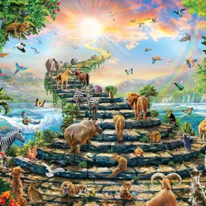 Stairway to Heaven 260 Piece Jigsaw Puzzle - Anatolian