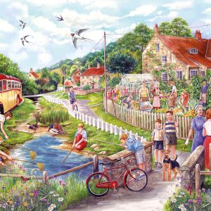 Summer by the Stream 250 XL Piece Jigsaw Puzzle - Gibsons