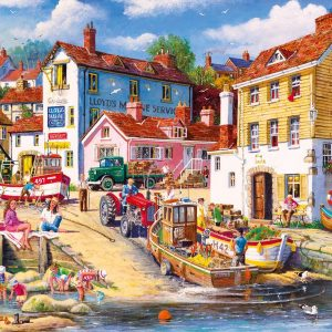 The Four Bells 1000 Piece Jigsaw Puzzle - Gibsons