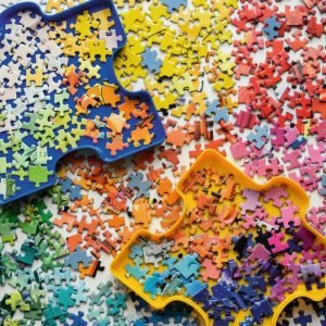 The Puzzler's Palette 1000 Piece Jigsaw Puzzle - Ravensburger