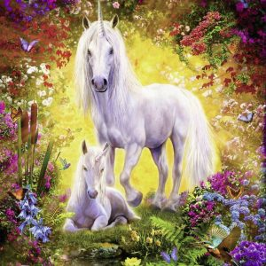 Unicorn and Foal 500 Piece Jigsaw Puzzle - Ravensburger
