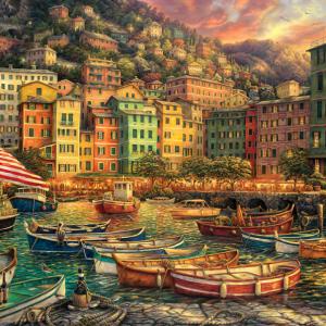 Vibrance of Italy 3000 Piece Jigsaw Puzzle - Anatolian