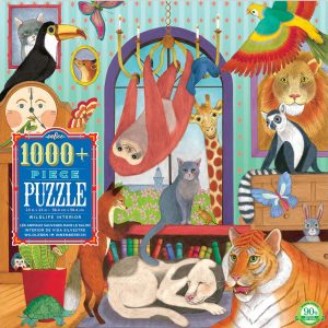 Wildlife Interior 1000 Piece Jigsaw Puzzle - eeBoo