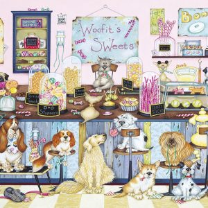 Woofit's Sweet Shop 1000 Piece Jigsaw Puzzle - Gibsons