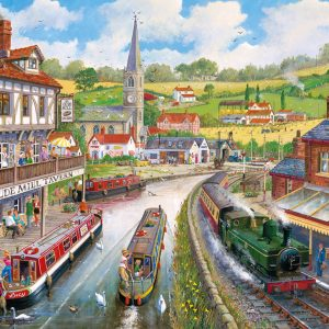 Ye Olde Mill Tavern 500 XL Piece Jigsaw Puzzle - Gibsons