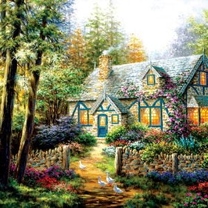 A Country Gem 1000+ Larger Piece Jigsaw Puzzle - Sunsout