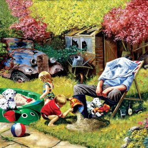 A Day with Grandpa 1000 Piece Jigsaw Puzzle - Sunsout