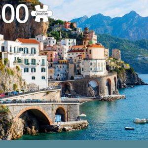 Amalfi Coast Italy 1500 Piece Jigsaw Puzzle - Jumbo