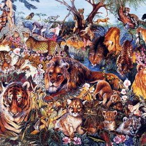 Animal Fantasia 1000 Piece Jigsaw Puzzle - Sunsout