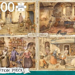 Anton Pieck - Bakers from the 19th Century 1000 Piece Jigsaw Puzzle - Jumbo