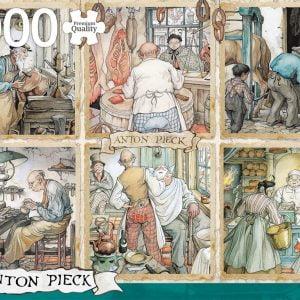 Anton Pieck - Craftsmanship 1000 Piece Jigsaw Puzzle - Jumbo