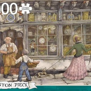 Anton Pieck - The Clock Shop 1000 Piece Jigsaw Puzzle - Jumbo