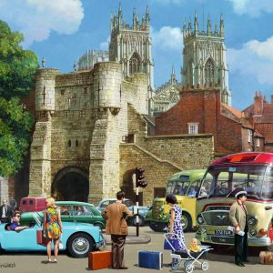 Arriving in York 1000 Piece Jigsaw Puzzle - Falcon de luxe