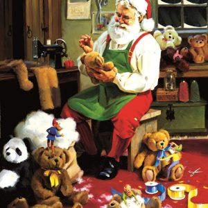 Bearly Christmas 500 Piece Jigsaw Puzzle - Sunsout