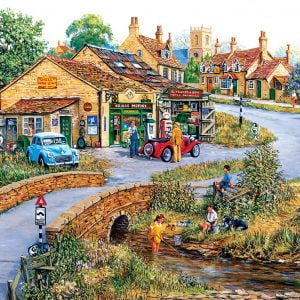 Bridge Motors 550 Piece Jigsaw Puzzle - Sunsout
