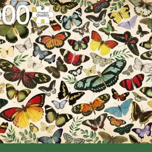 Butterfly Poster 1000 piece Jigsaw Puzzle - Jumbo