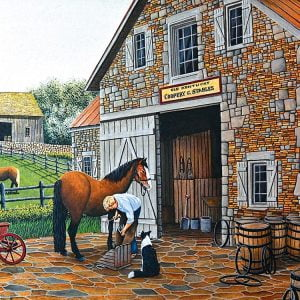 Coopery and Stables 1000 Piece Jigsaw Puzzle - Sunsout