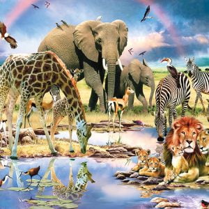 Cradle of Life 1000+ XL Piece Jigsaw Puzzle - Sunsout