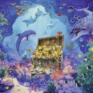 Deep Sea Treasure Puzzle 300 XXL Piece Jigsaw Puzzle - Ravensburger