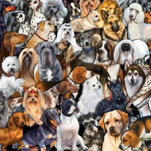 Dog World 300 Large Piece Jigsaw Puzzle - Sunsout