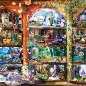 Enchanted Fairy Tale Library 1000 Piece Jigsaw Puzzle - Sunsout