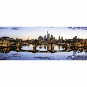 Frankfurts Reflections 1000 Piece Jigsaw Puzzle - Ravensburger