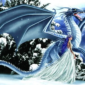 Ice Dragon 1000 Piece Jigsaw Puzzle - Sunsout