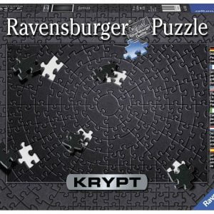 KRYPT Black 736 Piece Jigsaw Puzzle - Ravensburger