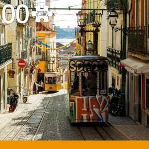 Lisboa Portugal 1500 Piece Jigsaw Puzzle - Jumbo