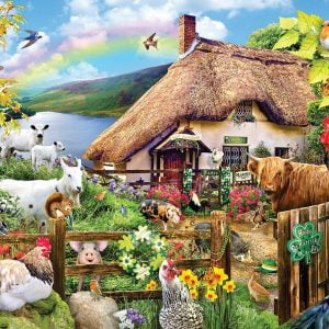Luck of the Irish 300 Large Piece Jigsaw Puzzle - Sunsout
