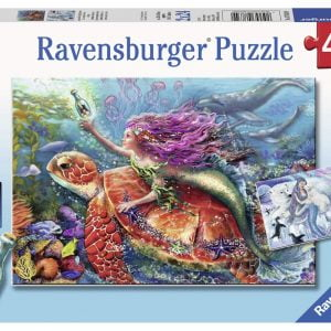 Mermaid Adventures 2 x 24 Piece Jigsaw Puzzle - Ravensburger