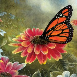 Monarch Butterfly 500 Piece Jigsaw Puzzle - Sunsout