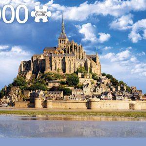 Mont Saint-Michel 1000 Piece Jigsaw Puzzle - Jumbo