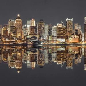 New York at Night 1500 Piece Jigsaw Puzzle - Schmidt