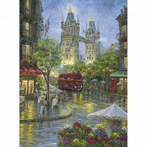 Picturesque London 500 Piece Jigsaw Puzzle - Ravensburger