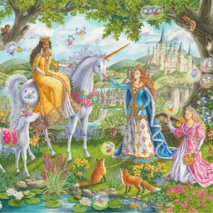 Princess Party 100 XXL Piece Jigsaw Puzzle - Ravensburger