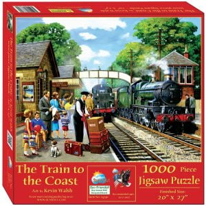 Train to the Coast 1000 Piece Jigsaw Puzzle - Sunsout