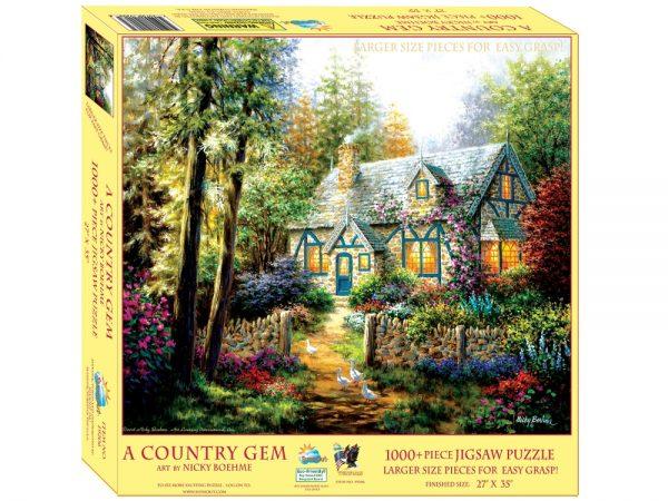 A Country Gem 1000 XL Piece Jigsaw Puzzle - Sunsout