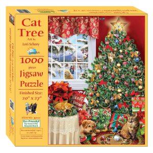 Cat Tree 1000 Piece Jigsaw Puzzle - Sunsout