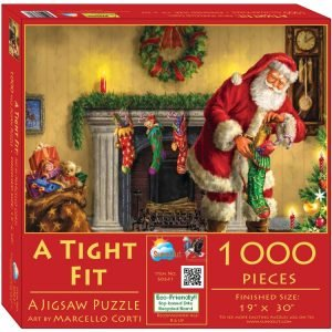 A Tight Fit 1000 Piece Jigsaw Puzzle - Sunsout