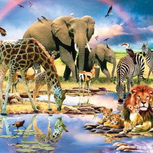 Safari 200 Piece Jigsaw Puzzle - Sunsout