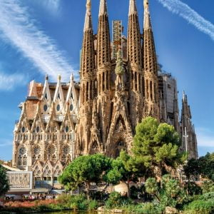 Sagrada Familia Barcelona 1000 Piece Jigsaw Puzzle - Jumbo
