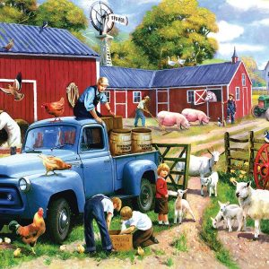 Spring Farm Days 1000 Piece Jigsaw Puzzle - Sunsout