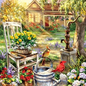 Spring Song 500 Piece Jigsaw Puzzle - Sunsout