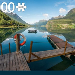 Styrn Norway 1000 Piece Jigsaw Puzzle - Jumbo