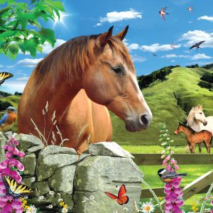 Summer Meadow 500 Piece Jigsaw Puzzle - Sunsout