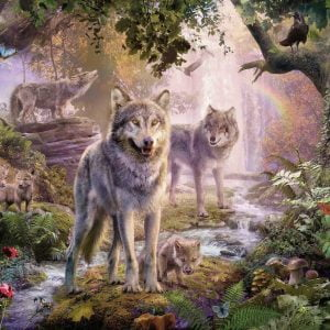 Summer Wolves 1000 Piece Jigsaw Puzzle - Ravensburger