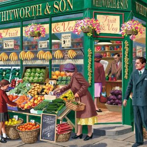 The Greengrocer 1000 Piece Jigsaw Puzzle - Falcon de luxe