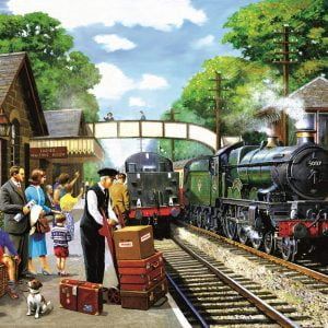 The Train to the Coast 1000 Piece Jigsaw Puzzle - Sunsout