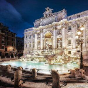 Trevi Fountain Rome 1000 Piece Jigsaw Puzzle - Schmidt